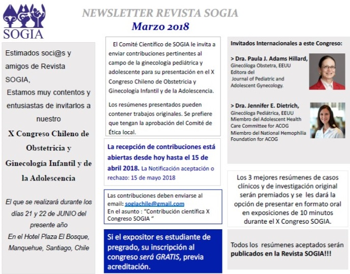 News Congreso Chileno 2018